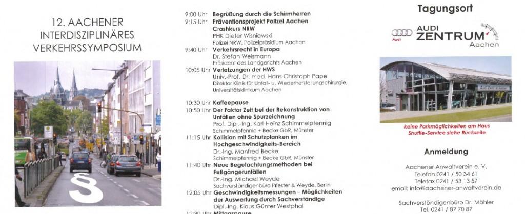 12. Aachener interdisziplinäres Verkehrssymposium